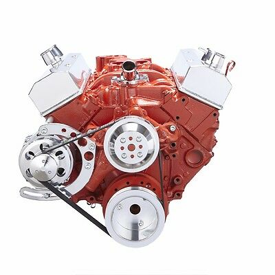 Sbc Serpentine Conversion Kit Alternator Only 283 327 350 400 Chevy Small Block