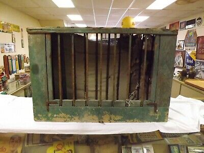 Vintage Yankee Robinson Carnival Circus Sideshow Animal Cage Barnum Ringling