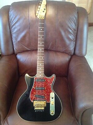 Very Rare 1984 Strings And Things Custom Blues Caster Excalibur Guitar With Fr