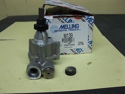 M139 Melling Oil Pump Fits 1976-1985 1.8 (chevy Luv) And 1.9 Litre Gmc