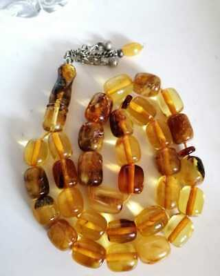 Very Old Germany Genuine Amber 31 Islamic Prayer Beads Rosary 80 Grams Misbaha