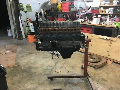 258 Engine Block And Head Removed From A 1987 Jeep Yj