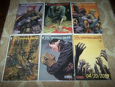 Image Comics The Walking Dead 151,152,153,154,155,156 Call To Arms - C38