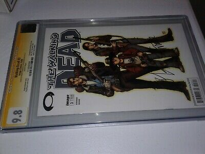 Walking Dead #3 (2003) Cgc 9.8 White Pages Signed By Robert Kirkman