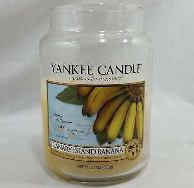 Yankee Candle Canary Island Banana World Fragrance Collection 22 Oz Used As Is