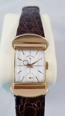 Extremely Rare 18k Solid Gold Lord Elgin 50 Millionth Watch.