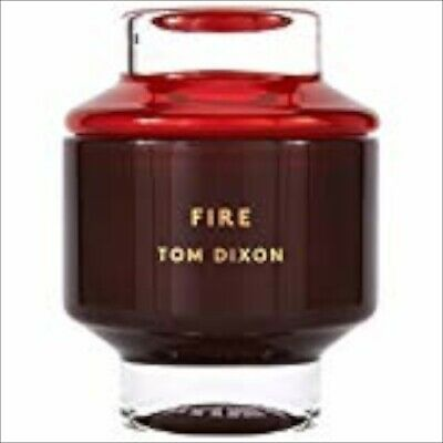 """Tom Dixon Fire Scented Candle     """" Large """"  Nib"""