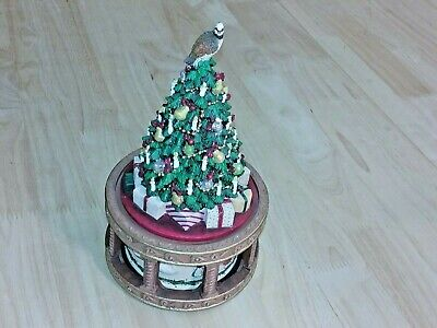 Musical 12 Days Of Xmas Partridge In Pear Tree Victorian San Francisco Music Box