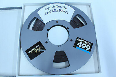 Daryl Dragon Captain And Tennille 2-track Master Reel To Reel Master Tape #2