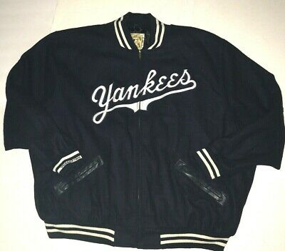 New York Yankee Cooperstown Authentic Collection Jacket By Mitchell