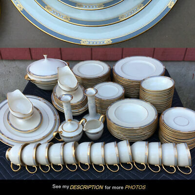 Service For 16,  Lenox Mckinley Presidential Dinnerware China, 118 Pieces