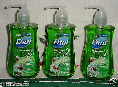 3 Dial Seasonal Winter Frost 7.5 Ounce Hand Soap-shipped Safely In Priority Box