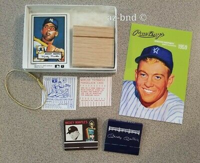 Mickey Mantle Collection Items Mlb Hof.yankee Matchbook