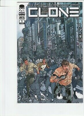 Clone # 1 !!5! Optioned !! Robert Kirkman Skybound Juan Jose Ryp !! .99 Auctions