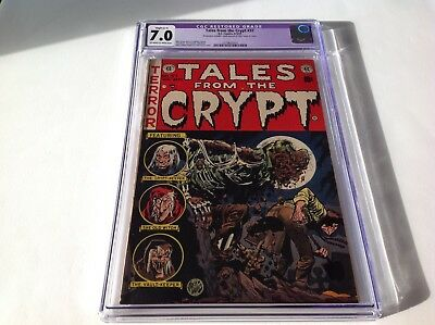 Tales From The Crypt 37 Cgc 7.0 Pre Code Horror Ec Comics Rotten Corpse Cover