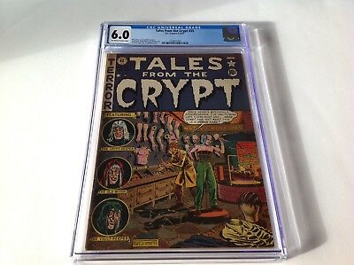Tales From The Crypt 25 Cgc 6.0 Pre Code Horror Ec Comics Waxworks Dummy Cover