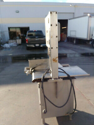 Hobart 5614 Commercial Meat Bone Beef Cutter Band Saw 2 Hp 200-230v/3p Working