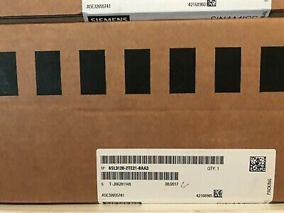 New Siemens Double Motor Module 6sl3120-2te21-8aa3 Free Expedited Shipping