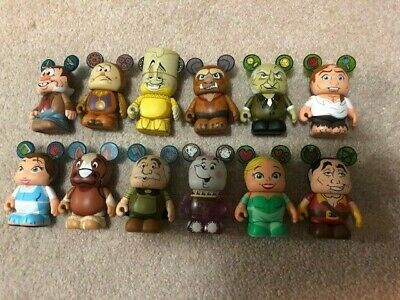 Disney Vinylmation - Beauty And The Beast, Full Set With Chaser!