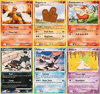 Pokemon Platinum Trading Cards - Select from List