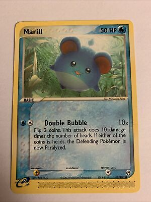 Marill 68/100 EX Sandstorm Pokemon Card