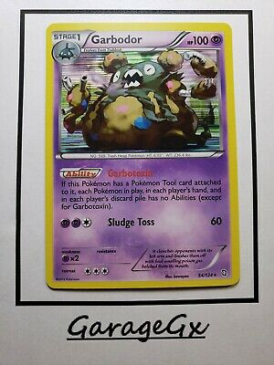 Pokemon Garbodor 54/124 B&W Dragons Exalted  HOLO Nm
