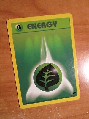 NM (Unlimited) Pokemon GRASS ENERGY Card GYM CHALLENGE Set 129/132 COMMON