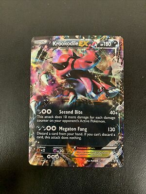Krookodile EX - Pokemon Card - XY Black Star Promo 25 - Rare Holo - MP