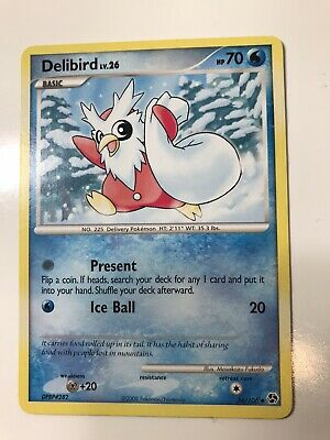 DELIBIRD - 36/106 - Great Encounters - Uncommon - Pokemon Card - Near Mint