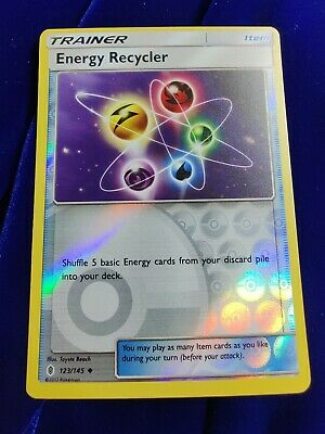 Energy Recycler | Reverse Holo | NM/M | Guardians Rising 123/145 | Pokemon