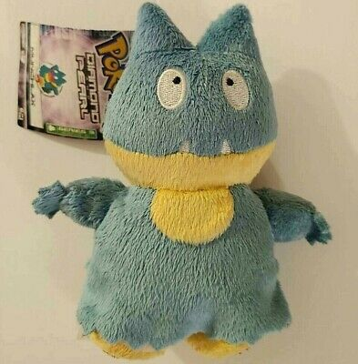 USA SELLER Pokemon Diamond and Pearl Game Anime Munchlax Plush Series 3 USED