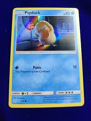 Psyduck | Holo | NM/M | Detective Pikachu 7/18 | Common | Pokemon