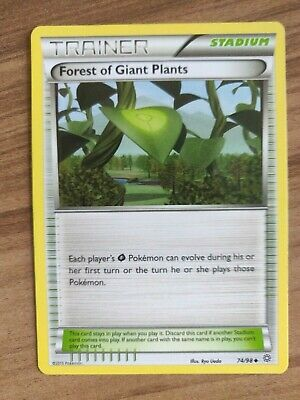 Forest of Giant Plants 74/98 - MINT Ancient Origins - Pokemon TCG Trainer Card
