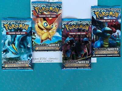Pokemon Black & White - Noble Victories Booster Pack - Choose Your Artwork