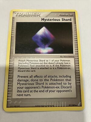 MYSTERIOUS SHARD - 81/100 - EX Crystal Guardians - Uncommon - Pokemon Card - NM