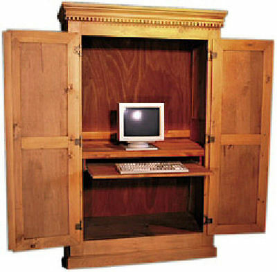 English Home Office Computer Cabinet 25 Country Paints Stains Distress Levels