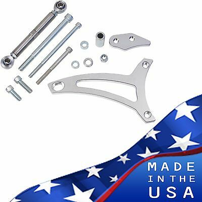 Ford 351w Alternator Bracket Billet Aluminum V-belt 5.8l Windsor Mid Mount
