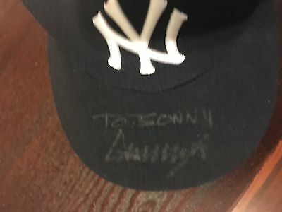 President Donald Trump Authentic Autographed New York Yankee Baseball Hat