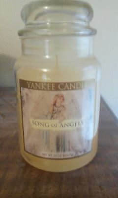 Yankee Candle Song Of Angels 22 Oz. Hard To Find Rare - New