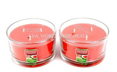 New Lot Of 2 Yankee Candle Guava Coconut Fusion 3 Wick Candle 17oz