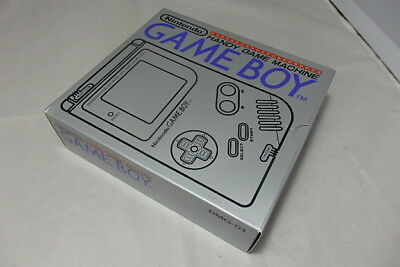 New Gameboy Original Console Nintendo Dmg-01 Box Gb Rare From Japan Ems :493