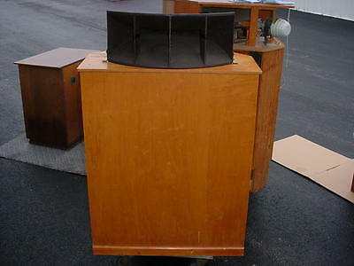 1 Brociner Klipschorn Type Horn Loaded Speaker Stephens Woofer