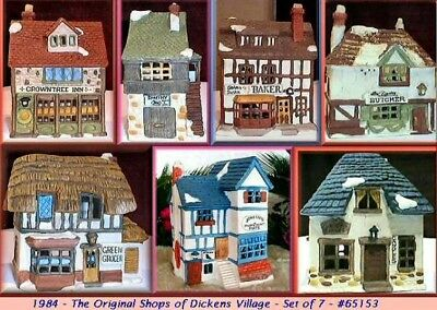 Department 56 Dickens Village Total 32 Houses