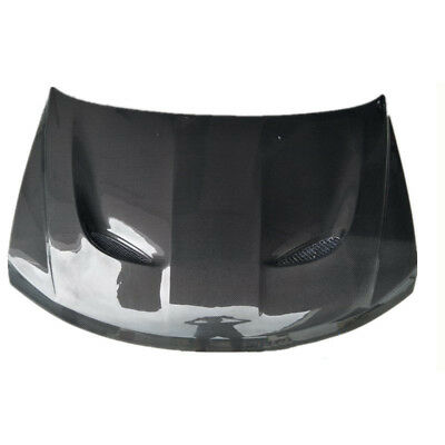 dodge jcuv/journey carbon fiber car 1pc front hood engine bay cover replace