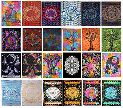 Wholesale Hippie Throw Twin Tapestry Mandala Wall Hanging