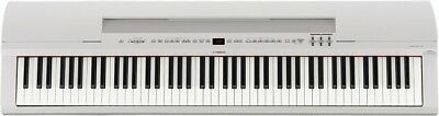 new yamaha electronic piano 88 key white p 255wh