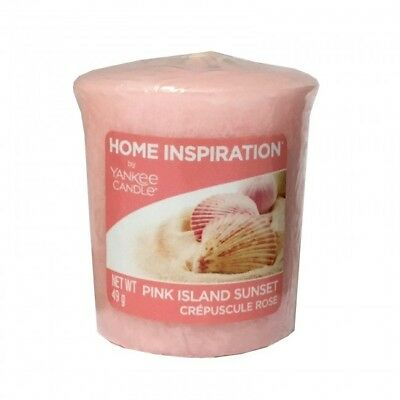 Yankee Candle Home Inspiration Votive Candle Pink Island Sunset Sampler 49g