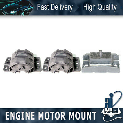 3pcs Anchor-engine At Trans Mount Kit For 81-85 Fleetwood 5.7l Thm200-4r 4speed