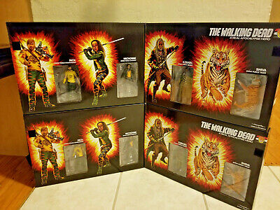 Sdcc 2017 Exclusive Skybound Walking Dead Shiva Force Bloody And Color Sets