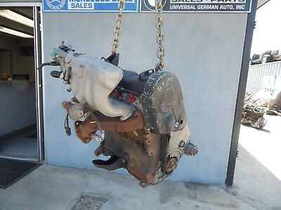 87-91 Sohc K-jetronic Vw Fox Volkswagen Engine Original  Less Then 80k Miles